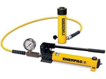 Enerpac Hydraulic Cylinder & Pump Set